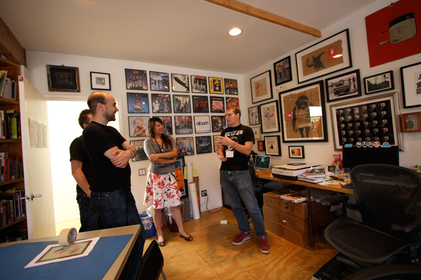 Inside Shepard Fairey's Studio